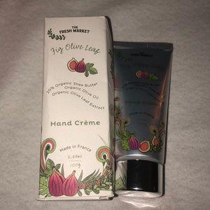 The Fresh Market Fig Olive Leaf Hand Creme